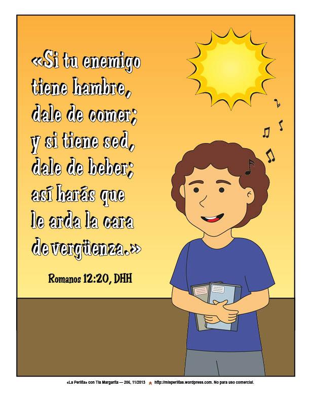 206 Romanos 12_20 poster