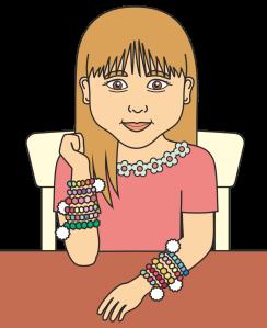 Alida y sus pulseras 2