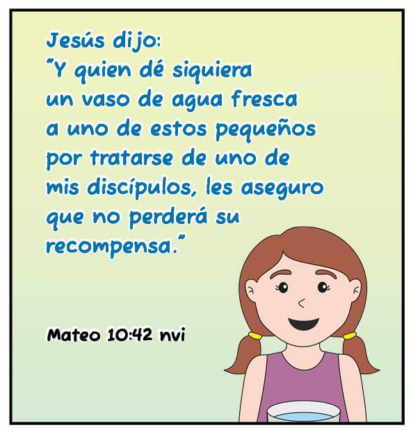 Mateo 10 42