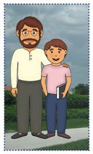 papa y Pedrito