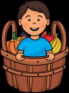 niño en la canasta co