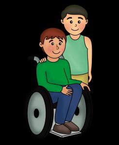 NIÑOS silla de ruedas