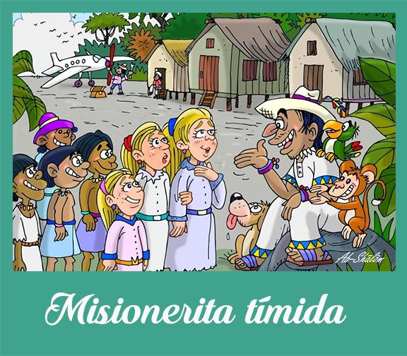 Misionerita timida